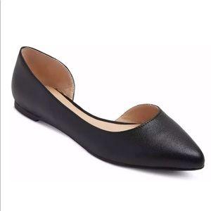 Mossimo Mohana Womens Point Toe Cut Out Flat Shoes